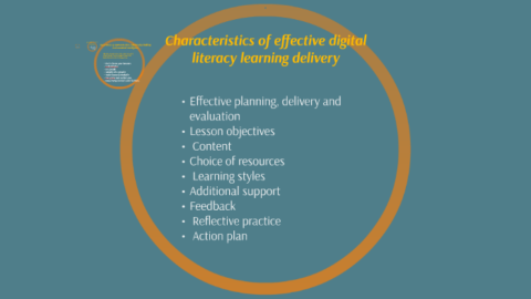 Characteristics of effective digital literacy