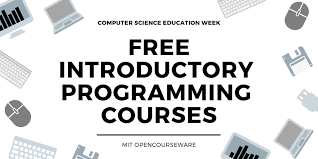 Introductory Programming Courses: From MIT